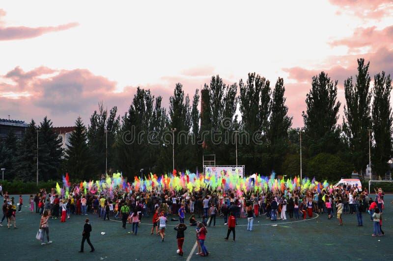 Fest de Holi imágenes de archivo libres de regalías