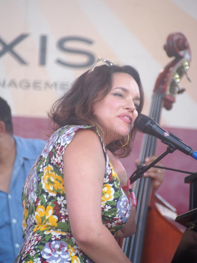 Fest 2016 de jazz de Newport images stock