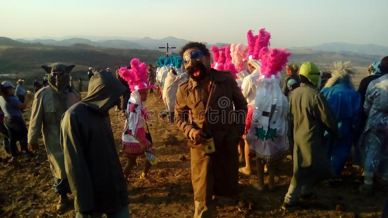 Fest de Oconahua fotos de archivo libres de regalías