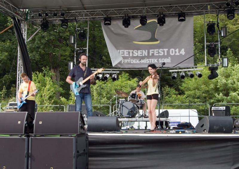 Fest 2014 de Sweetsen photos stock