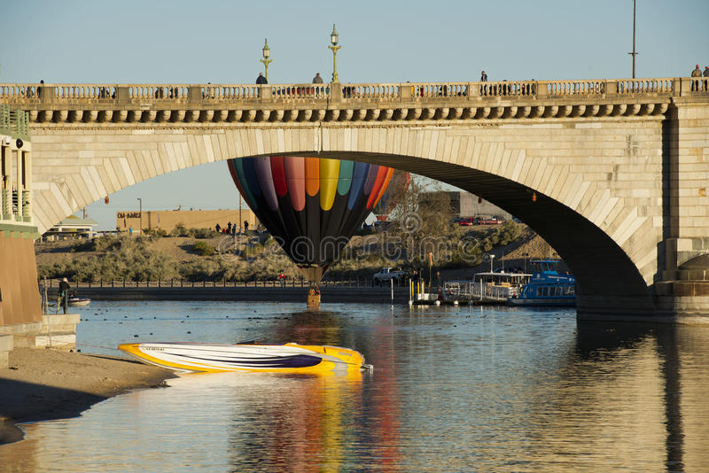 Fest do balão de Lake Havasu imagens de stock
