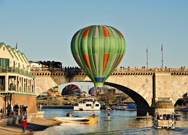 Fest do balão de Lake Havasu imagem de stock