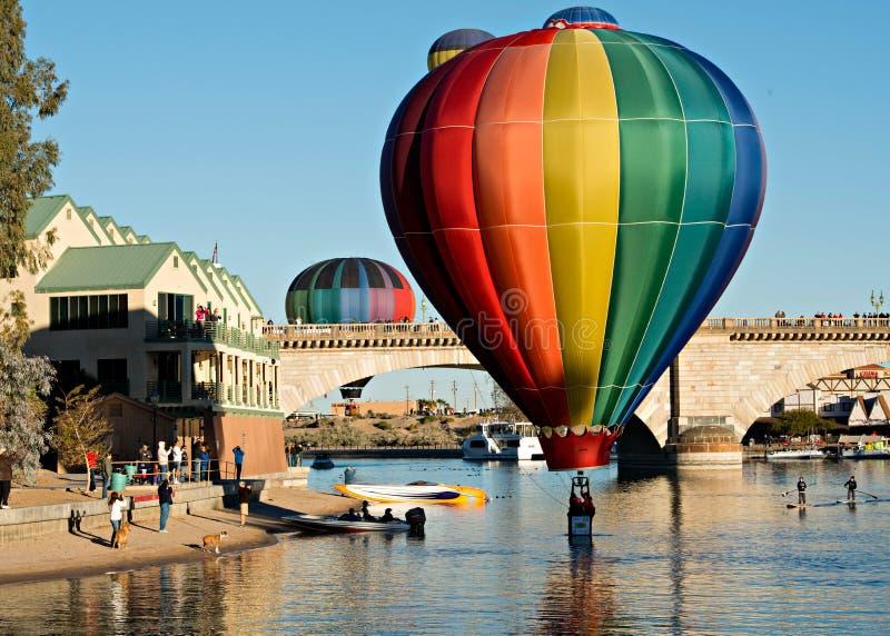 Fest do balão de Lake Havasu fotografia de stock royalty free