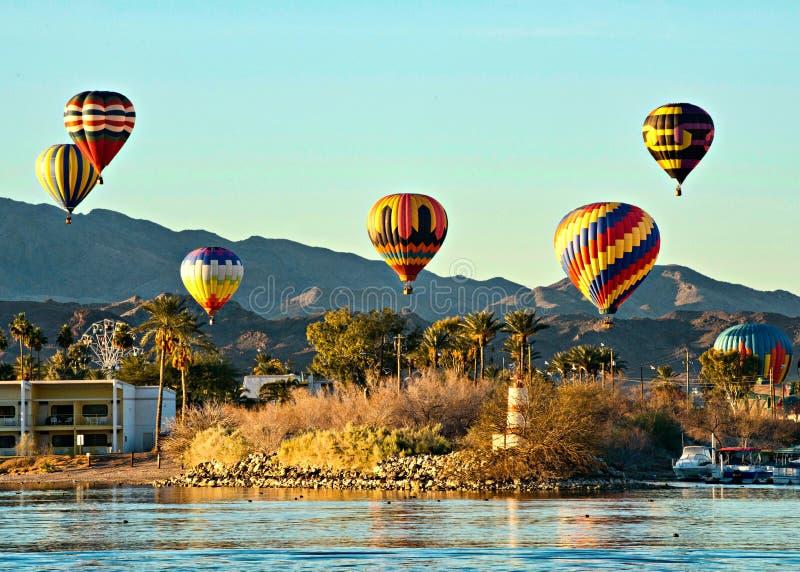 Fest do balão de Lake Havasu foto de stock royalty free