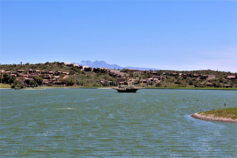 Fest irlandés 2019, colinas de la fuente, el condado de Maricopa, Arizona de la fuente en los Estados Unidos fotos de archivo libres de regalías