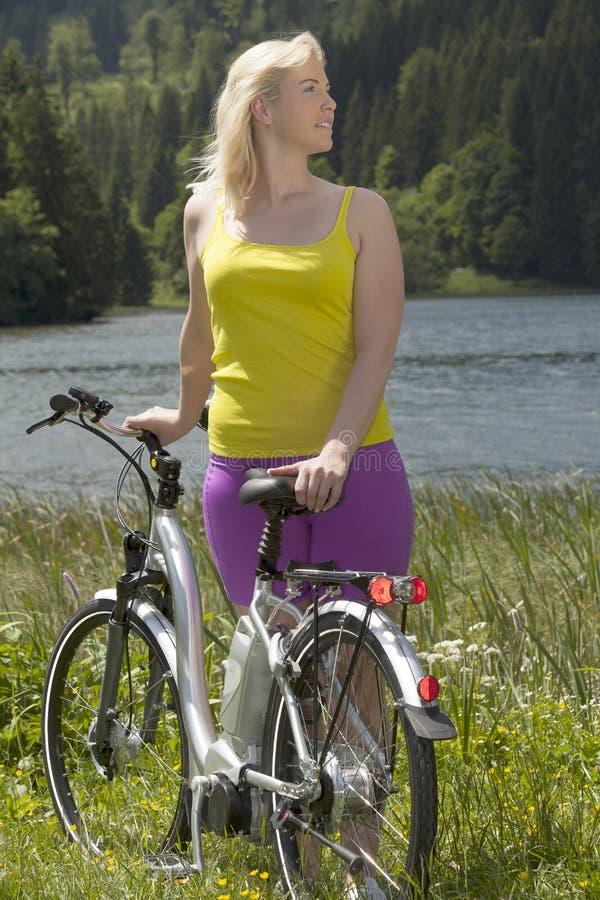 Festa in bici immagine stock