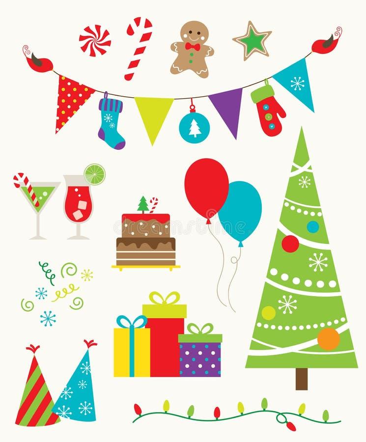 Festa de Natal ilustração stock