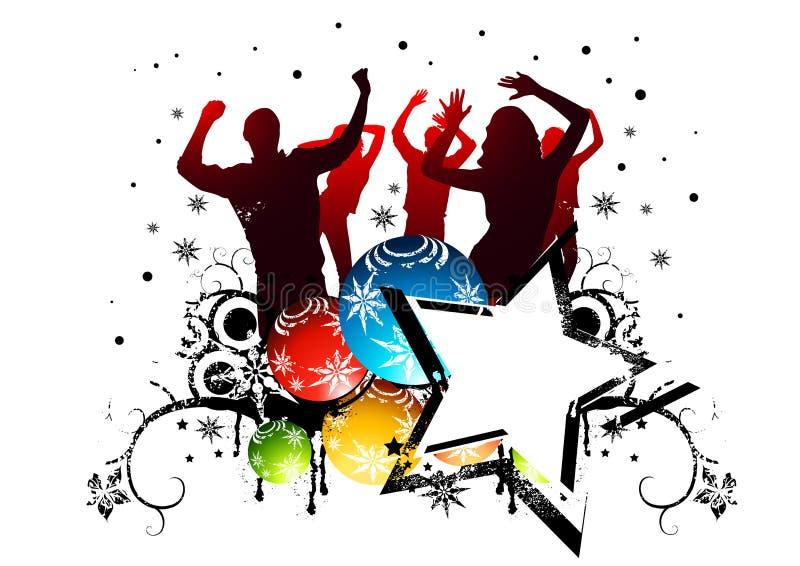 Festa de Natal ilustração royalty free