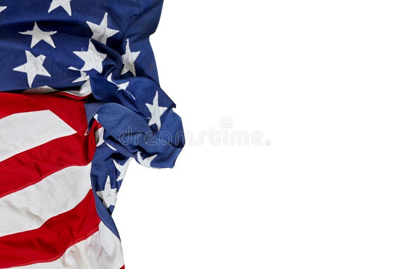 Festa del Lavoro felice Bandierina degli S Festa americana immagine stock libera da diritti