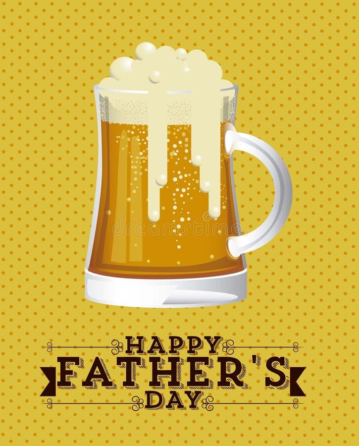 Download Festa del papà illustrazione vettoriale. Illustrazione di ornamento - 30827799