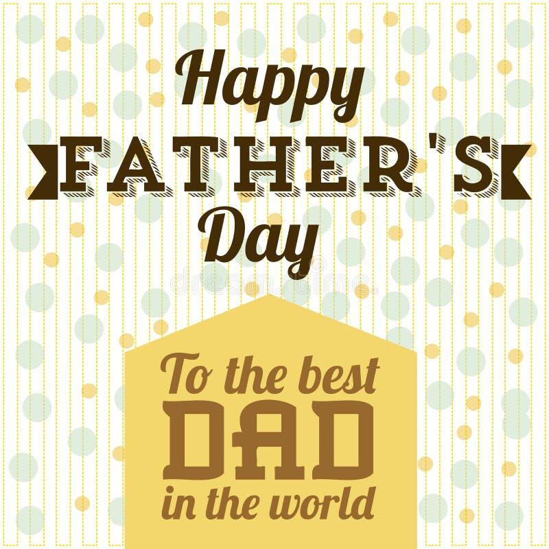 Download Festa del papà illustrazione vettoriale. Illustrazione di figura - 30827843