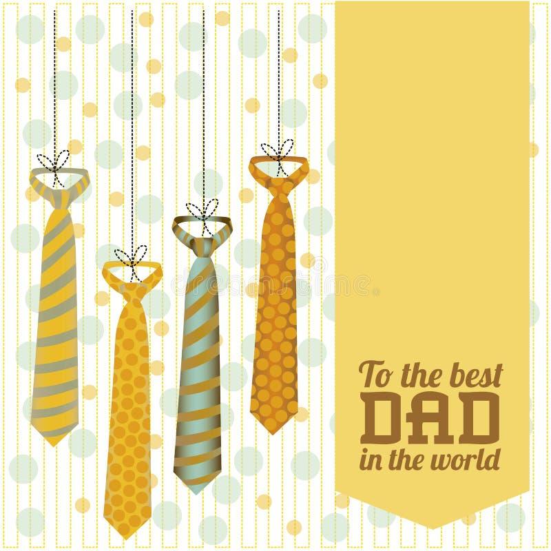Download Festa del papà illustrazione vettoriale. Illustrazione di modo - 30827846