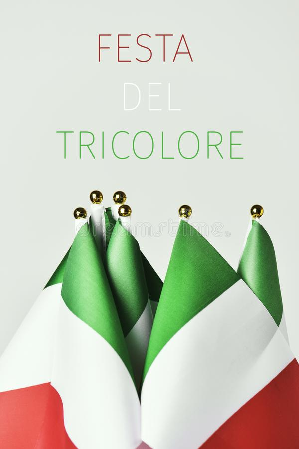 Free Festa Del Tricolore, The Day Of The Italian Flag Royalty Free Stock Images - 106958589