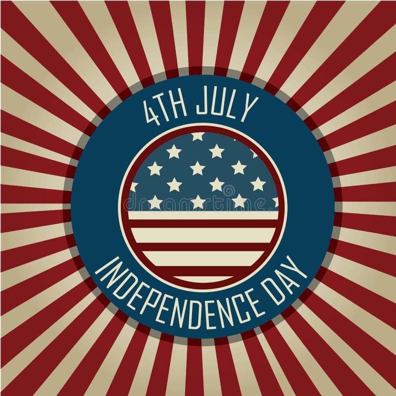 Festa dell'indipendenza illustrazione vettoriale