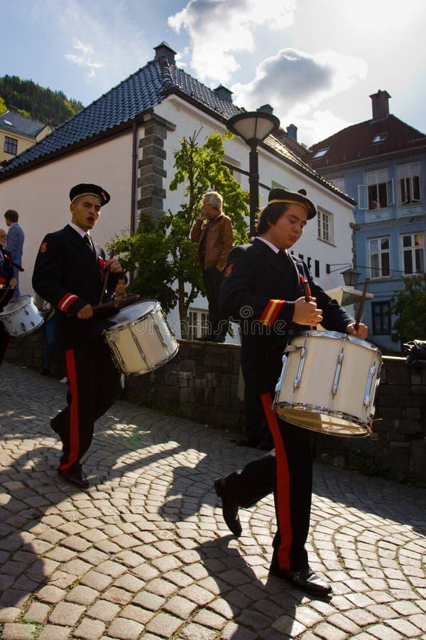 Festa dell'indipendenza della Norvegia immagini stock libere da diritti