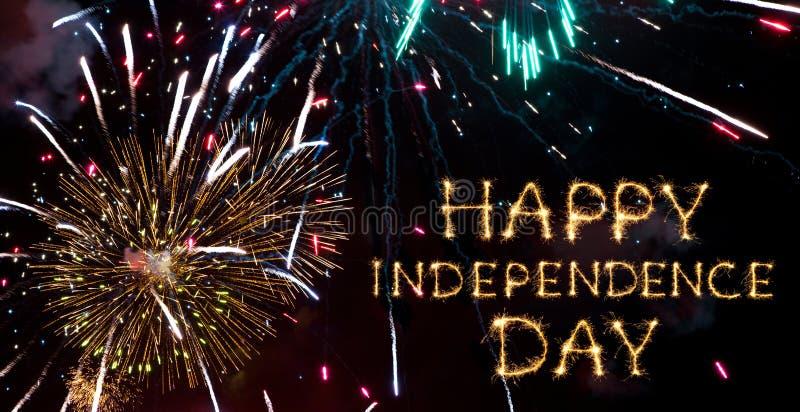 Festa dell'indipendenza felice fotografia stock libera da diritti