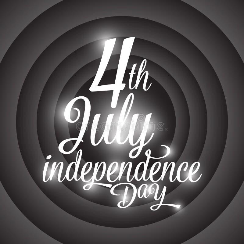 Download Festa Dell'indipendenza Felice U.S.A., Quarto Di Luglio Illustrazione Vettoriale - Illustrazione di libertà, stelle: 55360057