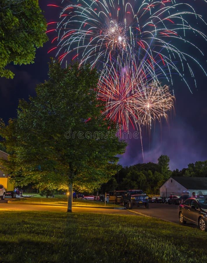 Festa dell'indipendenza 4 luglio 2018 immagine stock