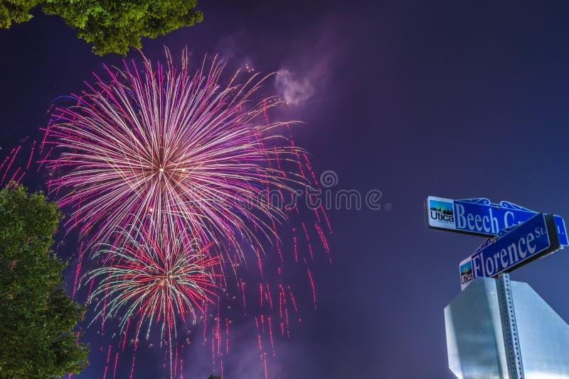 Festa dell'indipendenza 4 luglio 2018 fotografia stock libera da diritti