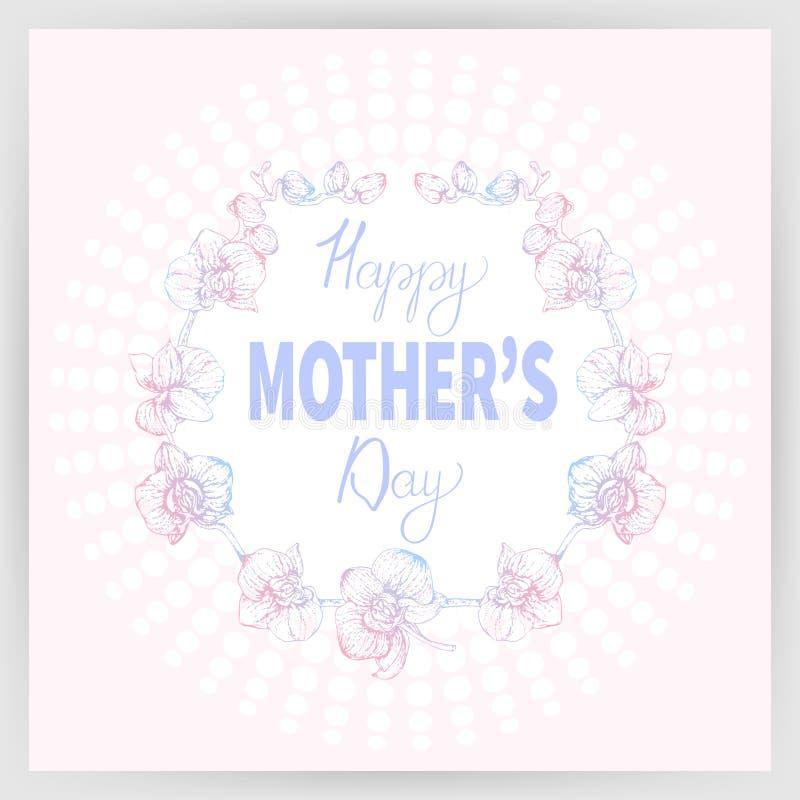 Festa della mamma felice 2_01 royalty illustrazione gratis