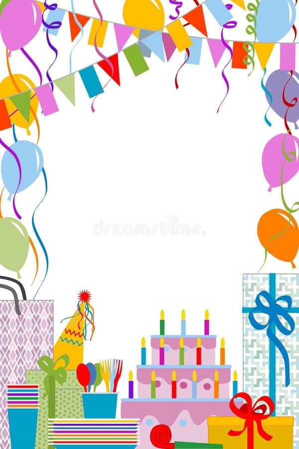 Festa di compleanno illustrazione vettoriale