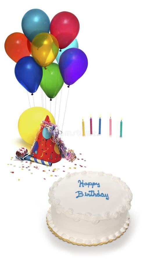 Festa di compleanno fotografie stock libere da diritti