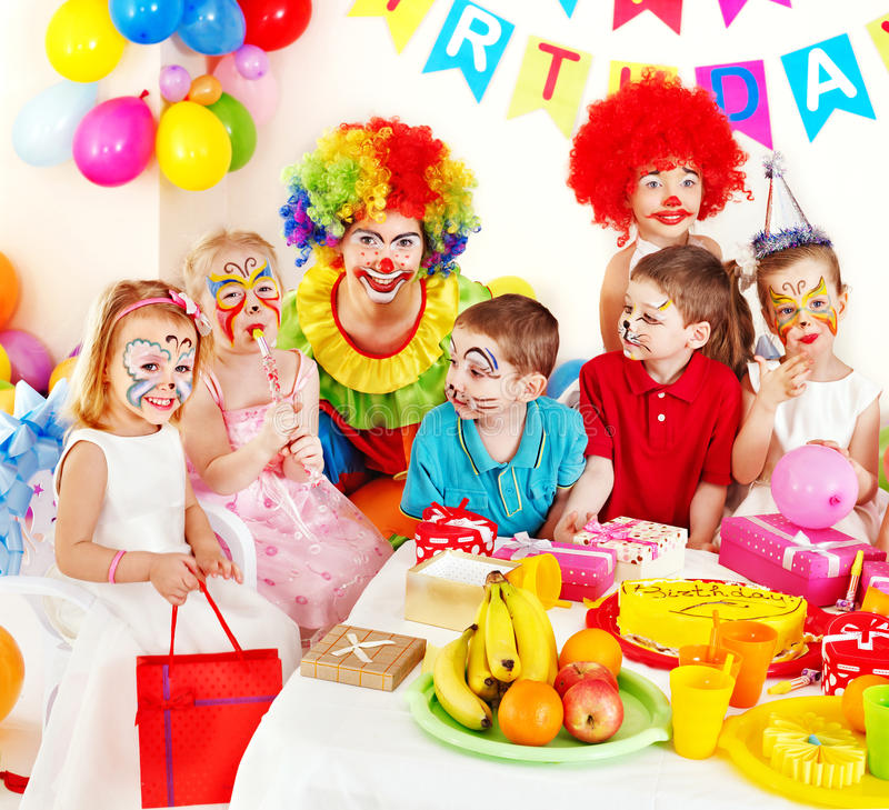 Festa di compleanno del bambino. fotografie stock libere da diritti