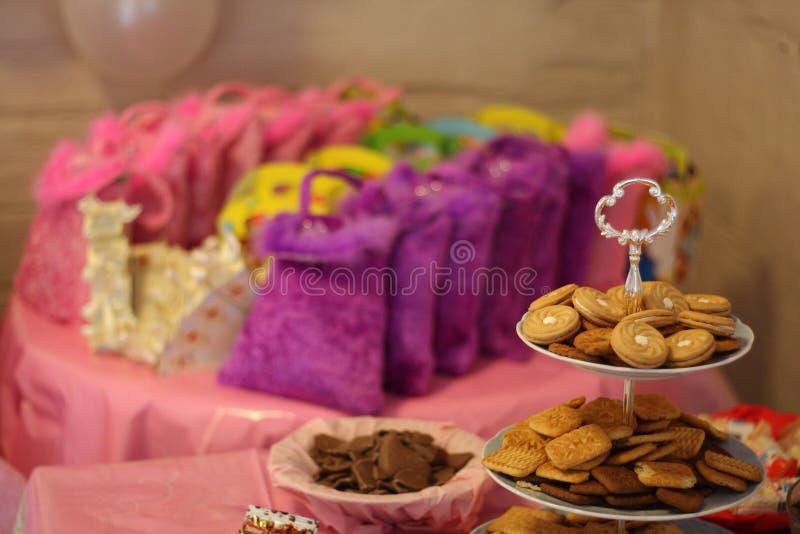 festa di compleanno del bambino di 1 anno fotografia stock libera da diritti