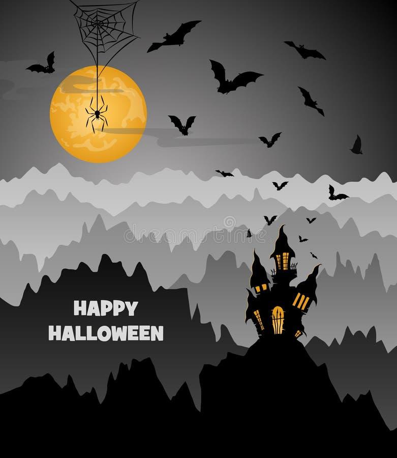 Festa di Halloween illustrazione vettoriale