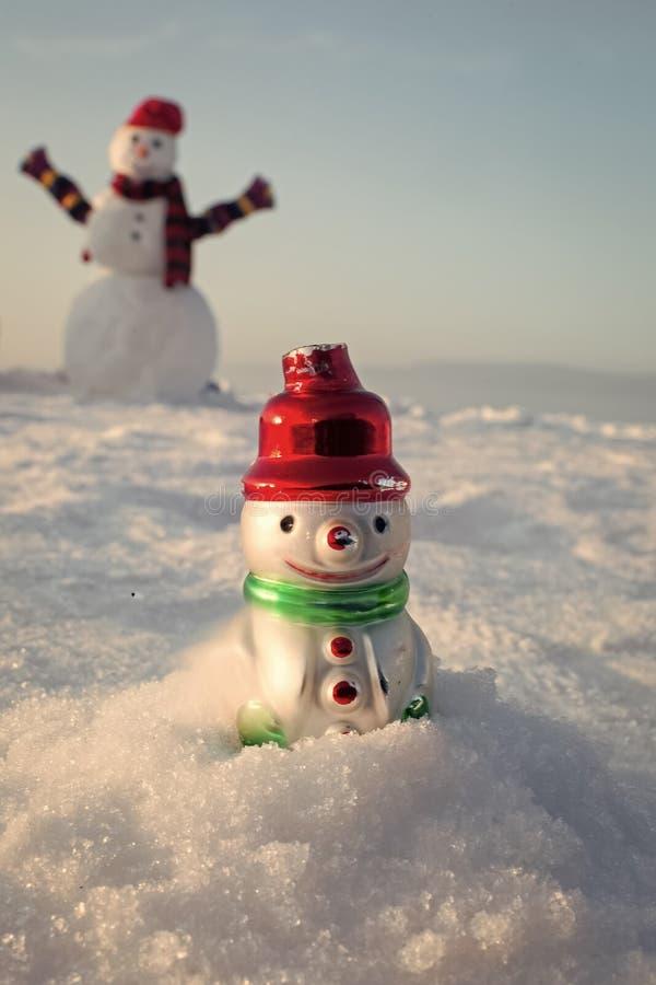 Festa di Natale, inverno fotografie stock libere da diritti