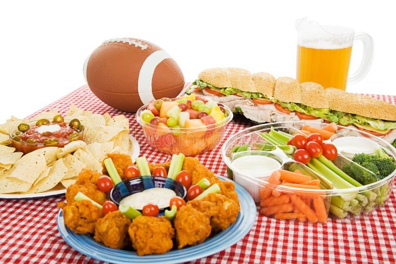 Festa do futebol imagens de stock