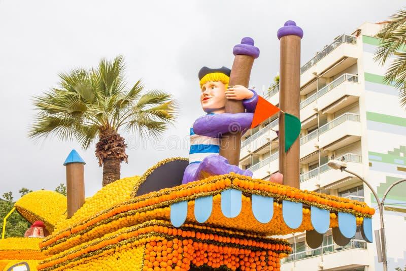 Festa du Cidra em Menton, França imagens de stock