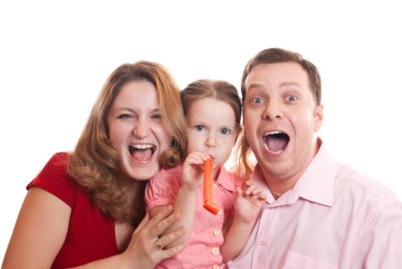 festa för familj arkivbilder