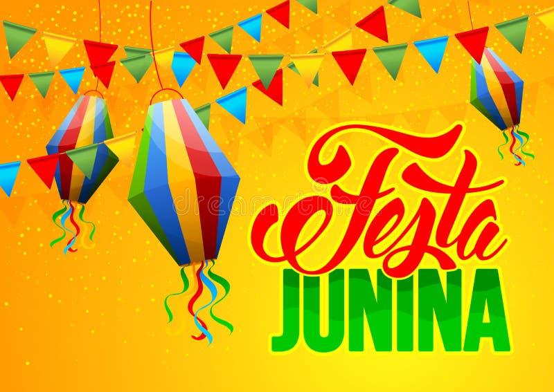 Festa Junina ilustração stock