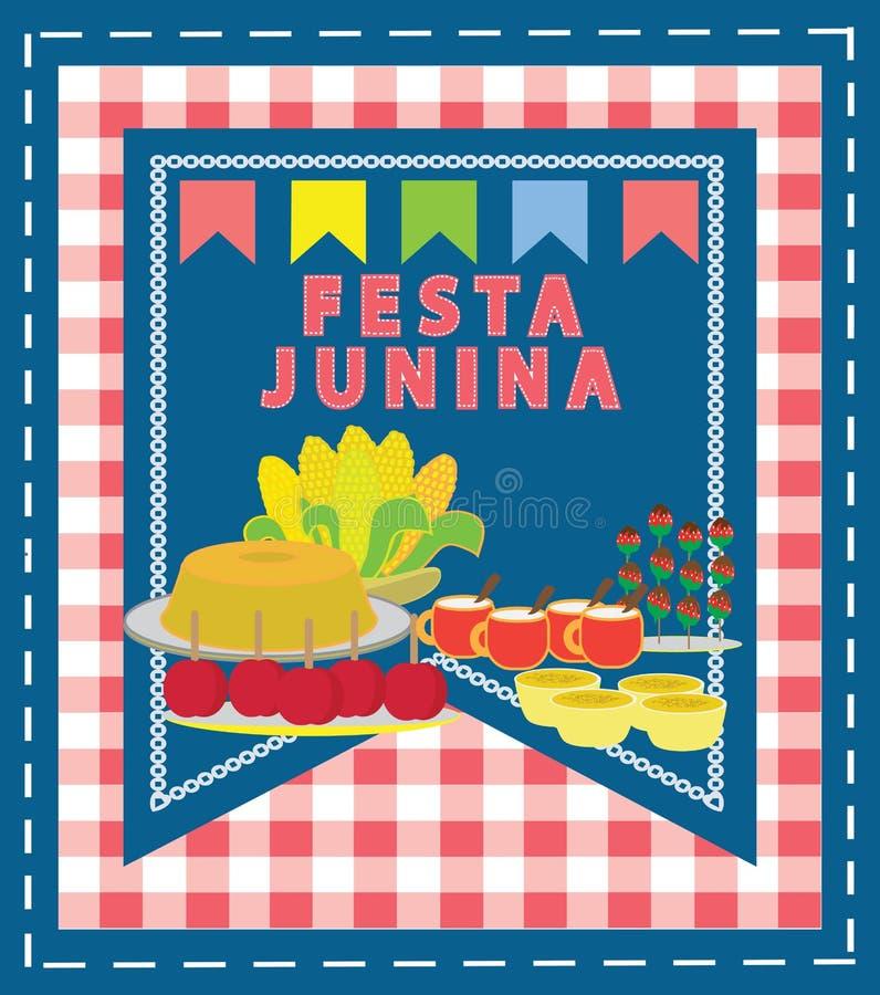 Festa Junina royalty free illustration