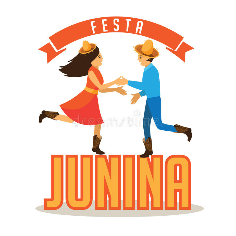 Festa Junina (June party) marketing design. vector illustration