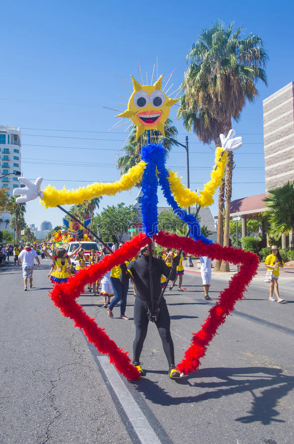 Festa Las Vegas fotografia de stock royalty free