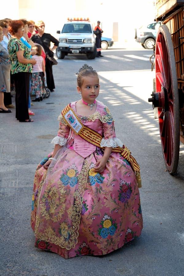 Festa spagnola. Festa del san Isidro immagini stock libere da diritti