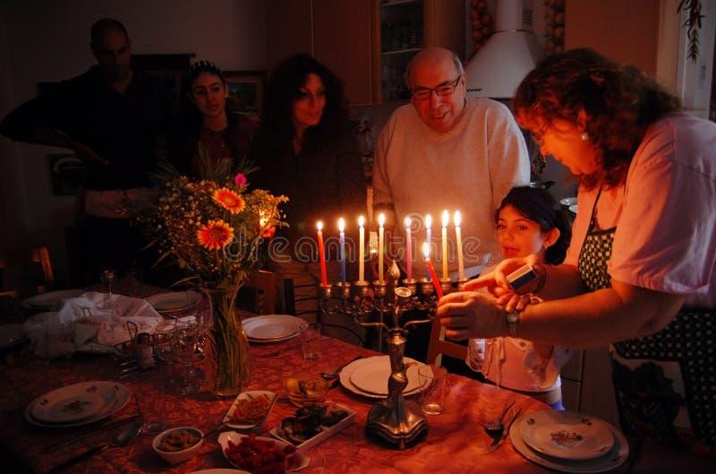 Feste ebree Hanukkah immagine stock libera da diritti