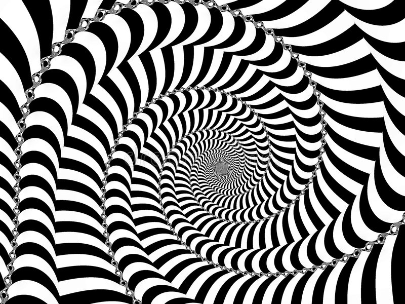 Feste Spirale vektor abbildung