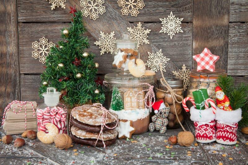 Fester för jul arkivfoto
