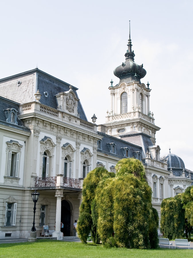 festetic pałacu keszthely zdjęcia stock