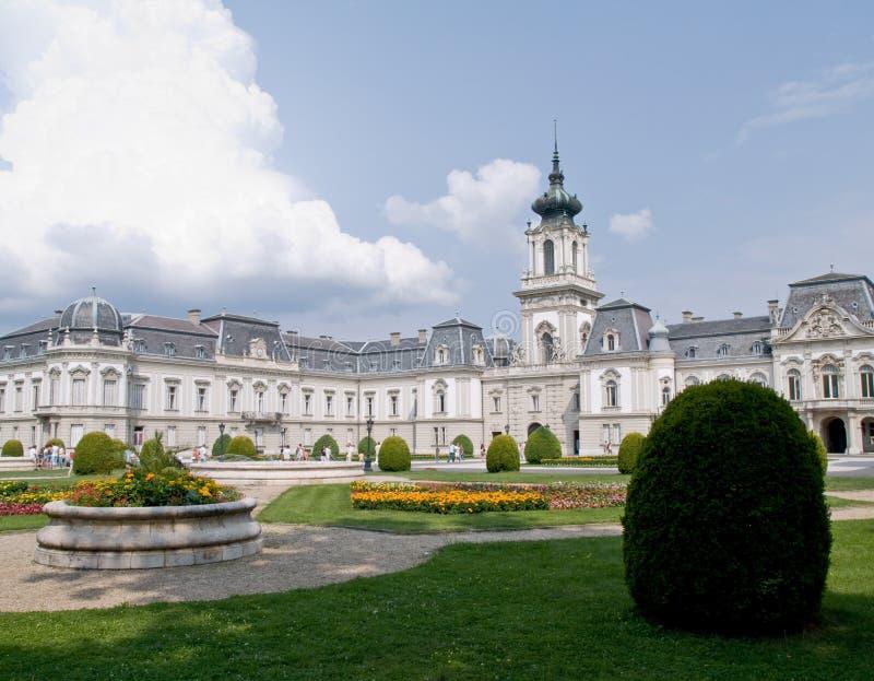 festetic pałacu keszthely obraz royalty free