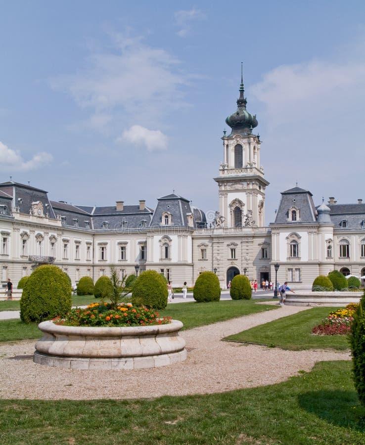 festetic pałacu keszthely zdjęcie royalty free