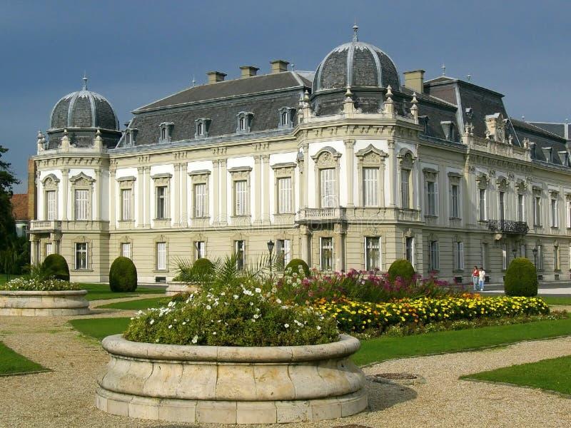 Festetics palace in Keszthely, Hungary royalty free stock image