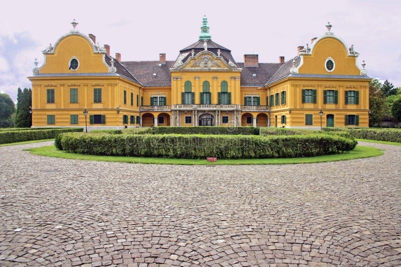 Festetics Schloss, Nagyteteny, Ungarn lizenzfreie stockbilder