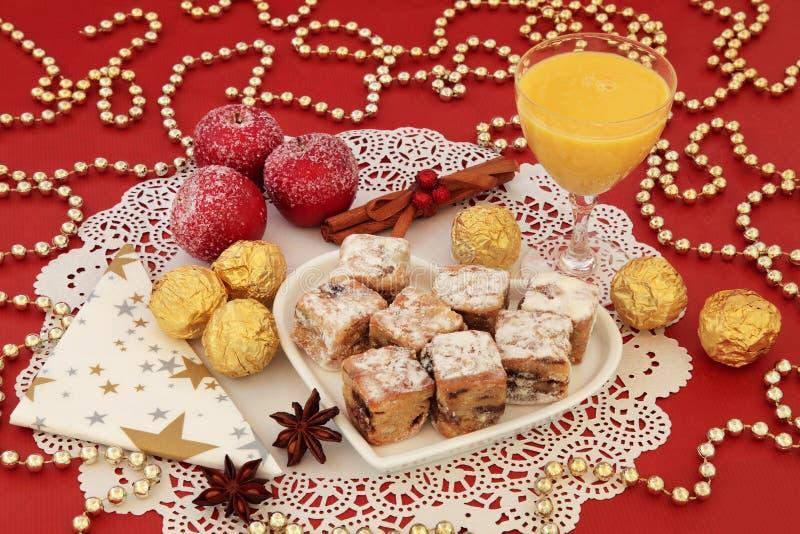 Festins de bonbon à Noël photos stock