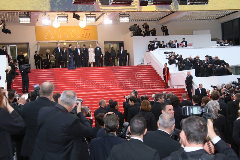 Festivais do DES de Palais da atmosfera foto de stock royalty free