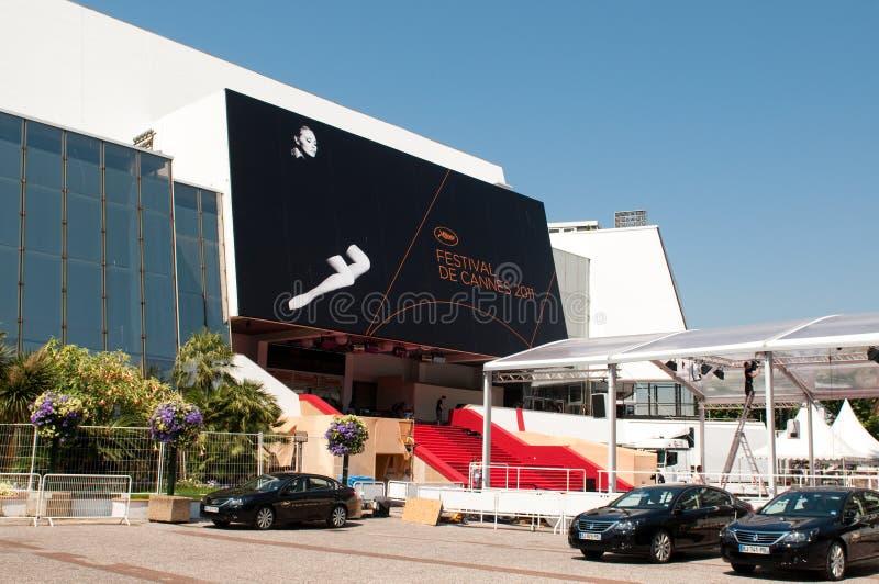 Festivais do DES de Palais em Cannes foto de stock royalty free