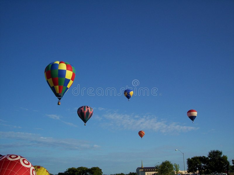 Festival 1306 do balão fotos de stock royalty free
